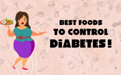 Infographic: Best Foods To Control Diabetes In The Family