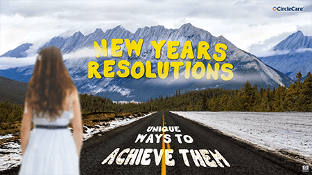 Unique ways to achieve your new years resolutions