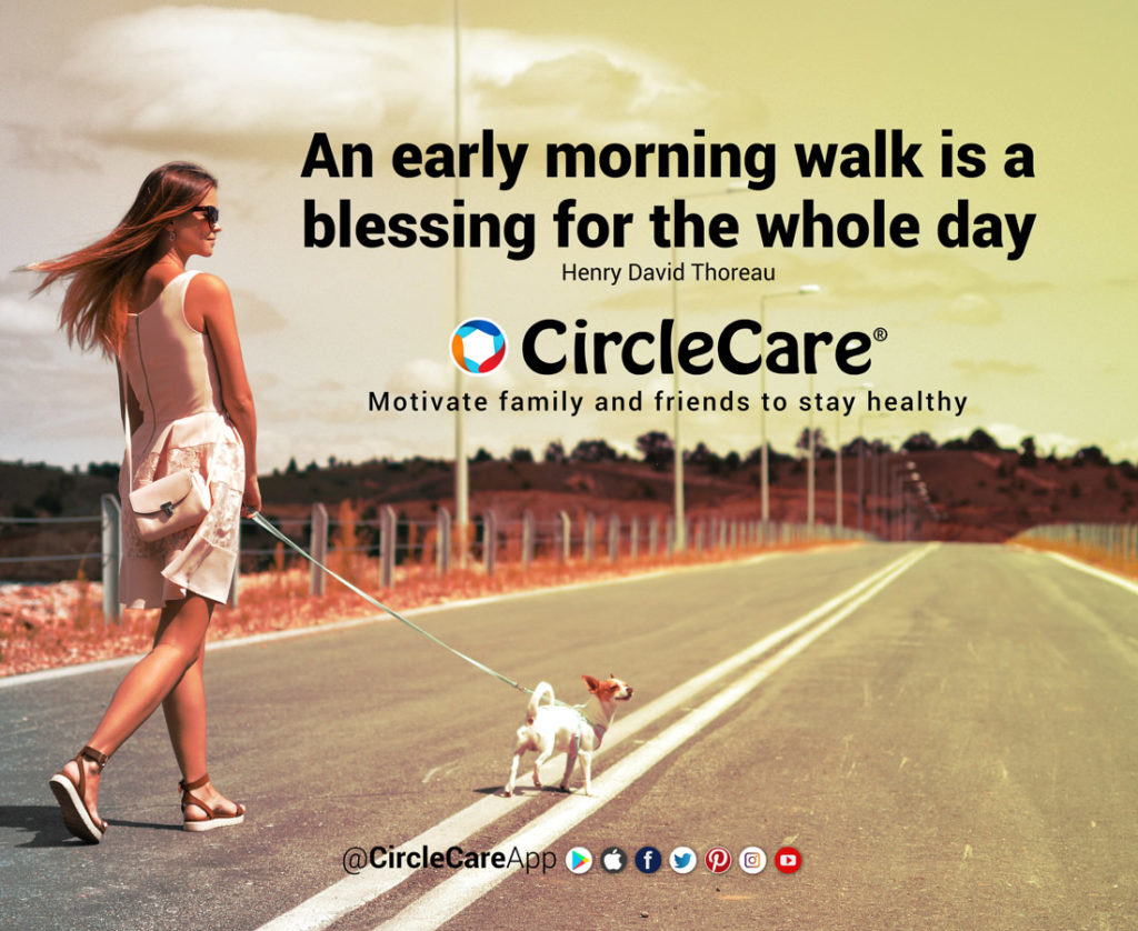 An Early Morning Walk is a Blessing - Walking Motivation-CircleCare