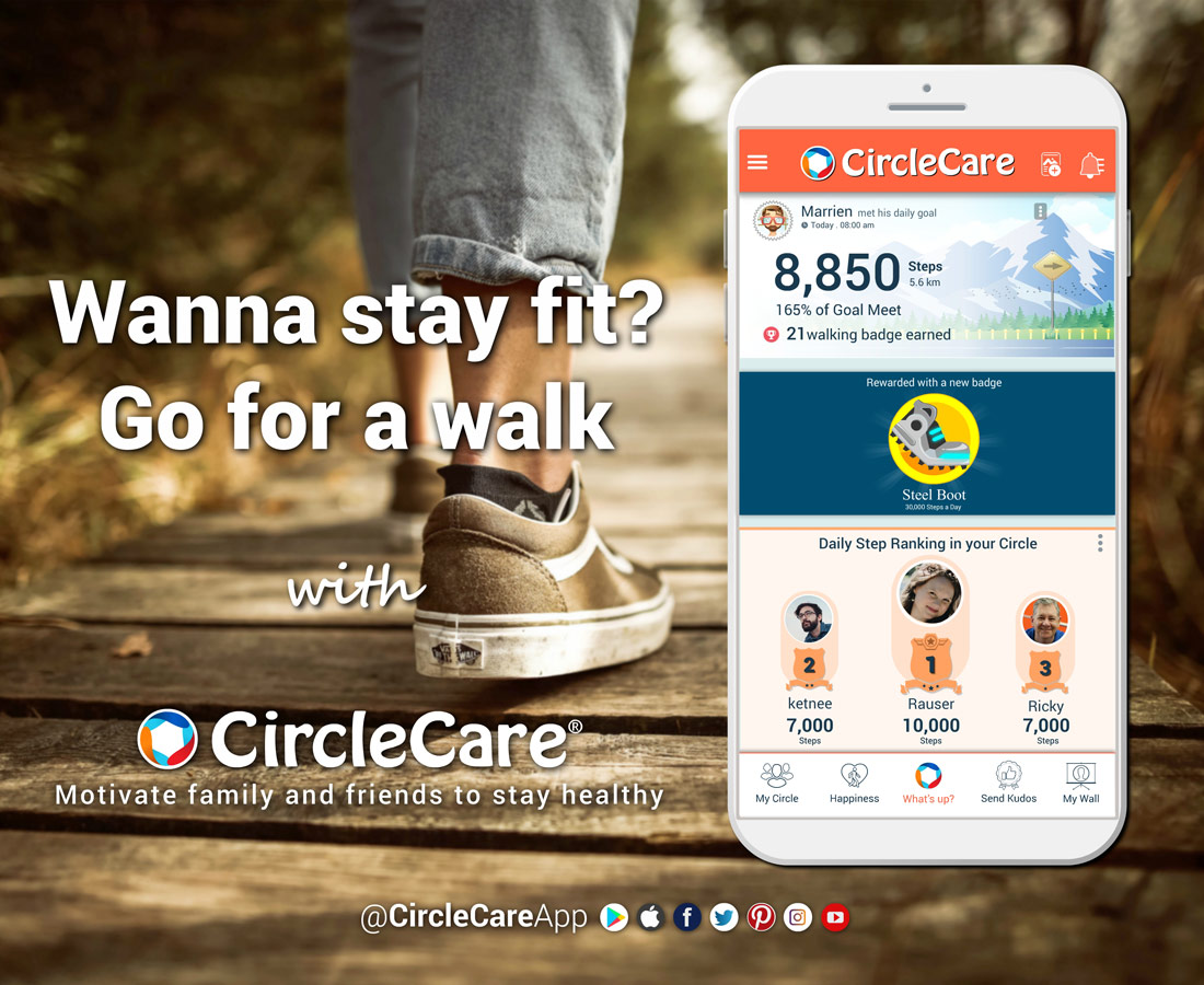 Wanna-stay-fit-Go-for-a-walk-with-CircleCare-App