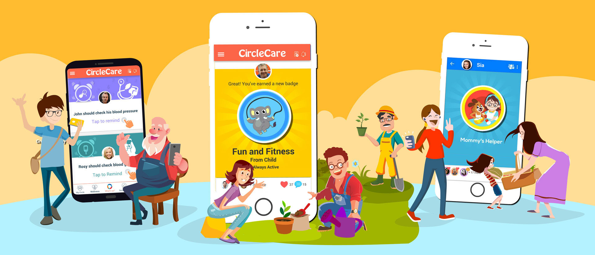 CircleCare-kid-safe-platform-health-wellness-app