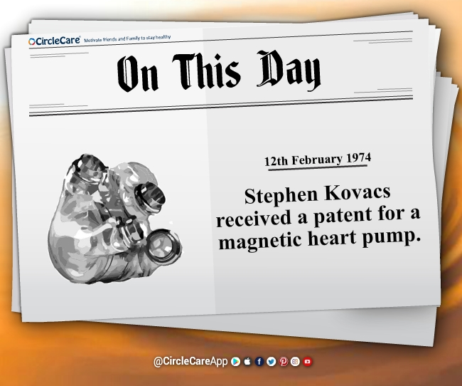 12 feb Stephen Kovacs received patent magnetic heart