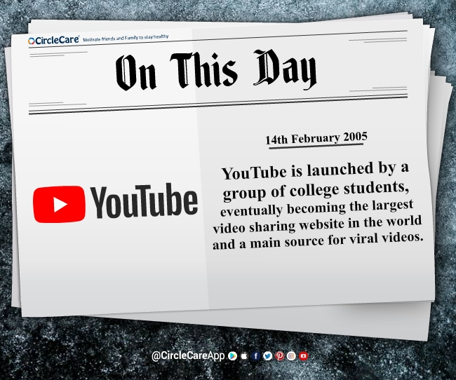 14-february-YouTube-launched
