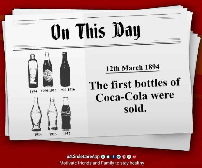 12-march-1894-The-first-bottles-of-Coca-Cola-was-sold