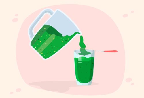 filter the mixture of bitter gourd juice-CircleCare