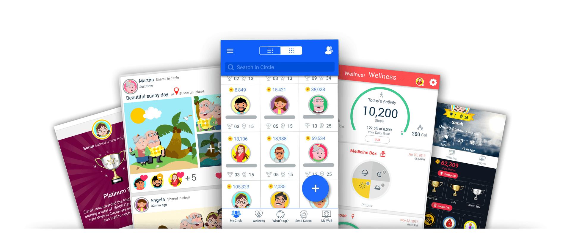 CircleCare-motivate-health-wellness-motivation-app