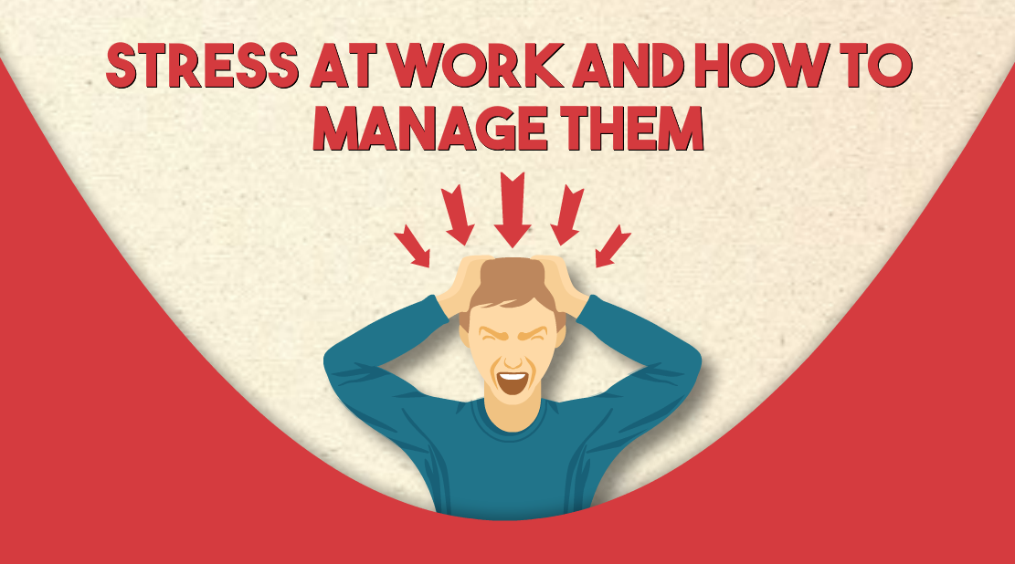 Infographic: Stress at work and how to manage them | CircleCare
