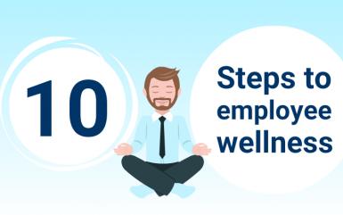 10 Steps to creating an effective employee wellness program