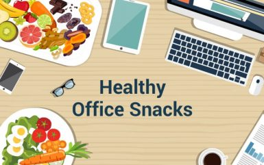 Healthy Snacks To Have On Your Office Desk