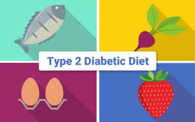 The basic guideline for type 2 diabetic diet