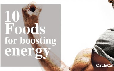 10 Foods for boosting energy