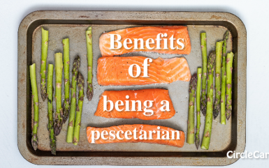 Benefits of being a pescetarian