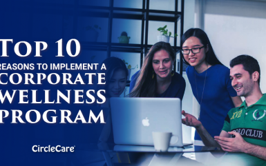 Top 10 reasons to implement a corporate wellness program