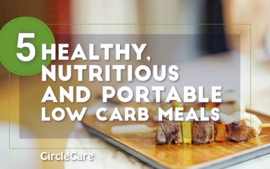 5 Healthy, Nutritious And Portable Low Carb Meals for Office
