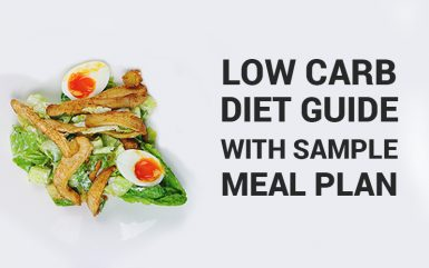 A Low Carb Diet Guide With Sample Meal Plan