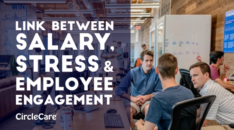 Link Between Salary, Stress And Employee Engagement