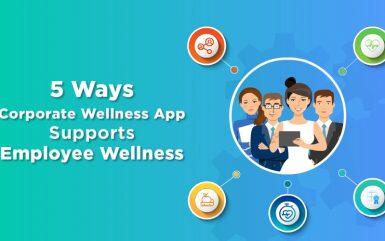 5 Ways Corporate Wellness Apps Supports Employee Wellness