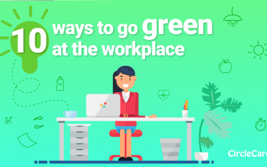 10 ways to go green at the workplace