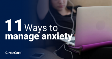 11 Ways to manage anxiety