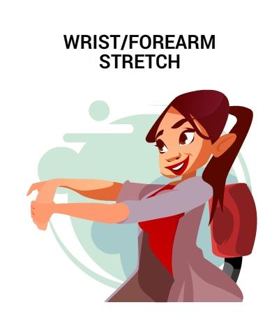 WRIST-FORE-ARM -STRETCH-CIRCLECARE